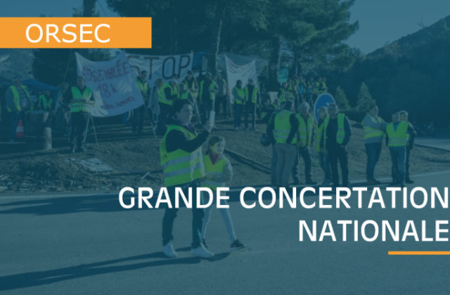 Illustration : Lancement de la grande concertation nationale